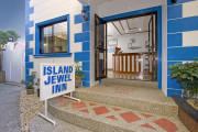 Island Jewel Inn entrance and reception